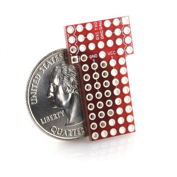 Protoshield for arduino pro mini