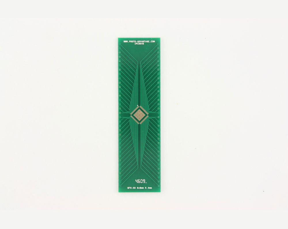 Qfn 68 Footprints Brushless Motor Controller Circuit Http Wwwdatasheetdircom To Dip 72 Smt Adapter 04 Mm Pitch 8 X