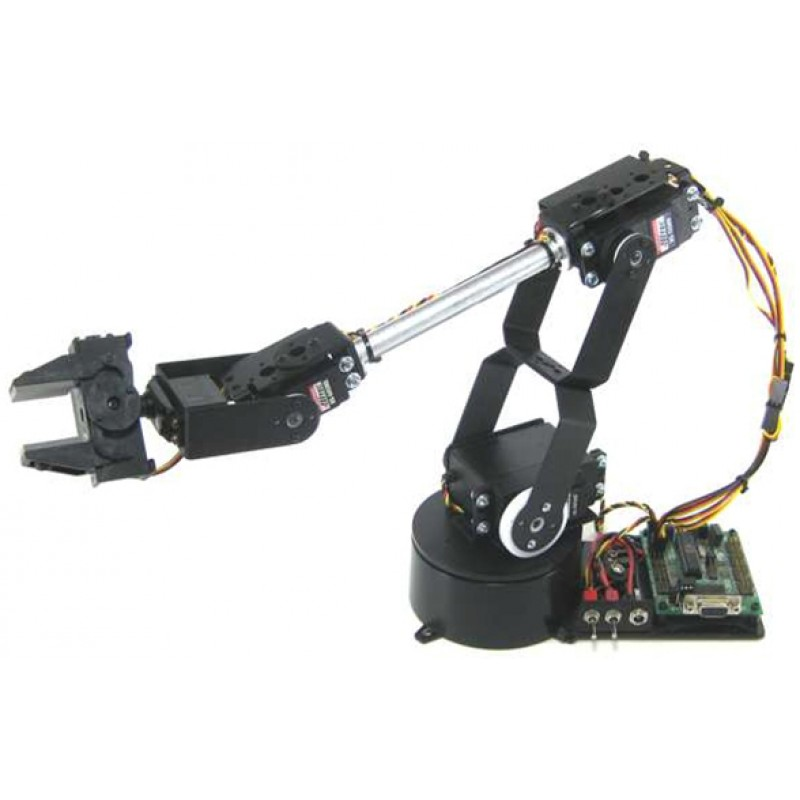 Lynxmotion Al5d 4 Degrees Of Freedom Robotic Arm Combo Kit