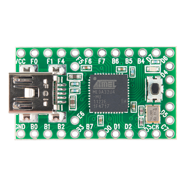 Teensy 2.0 with pins