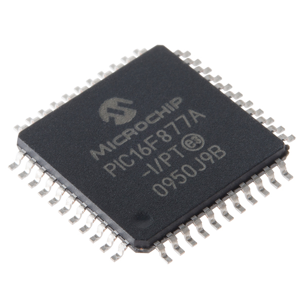 Pic 44 Pin Pic16f877a Smd